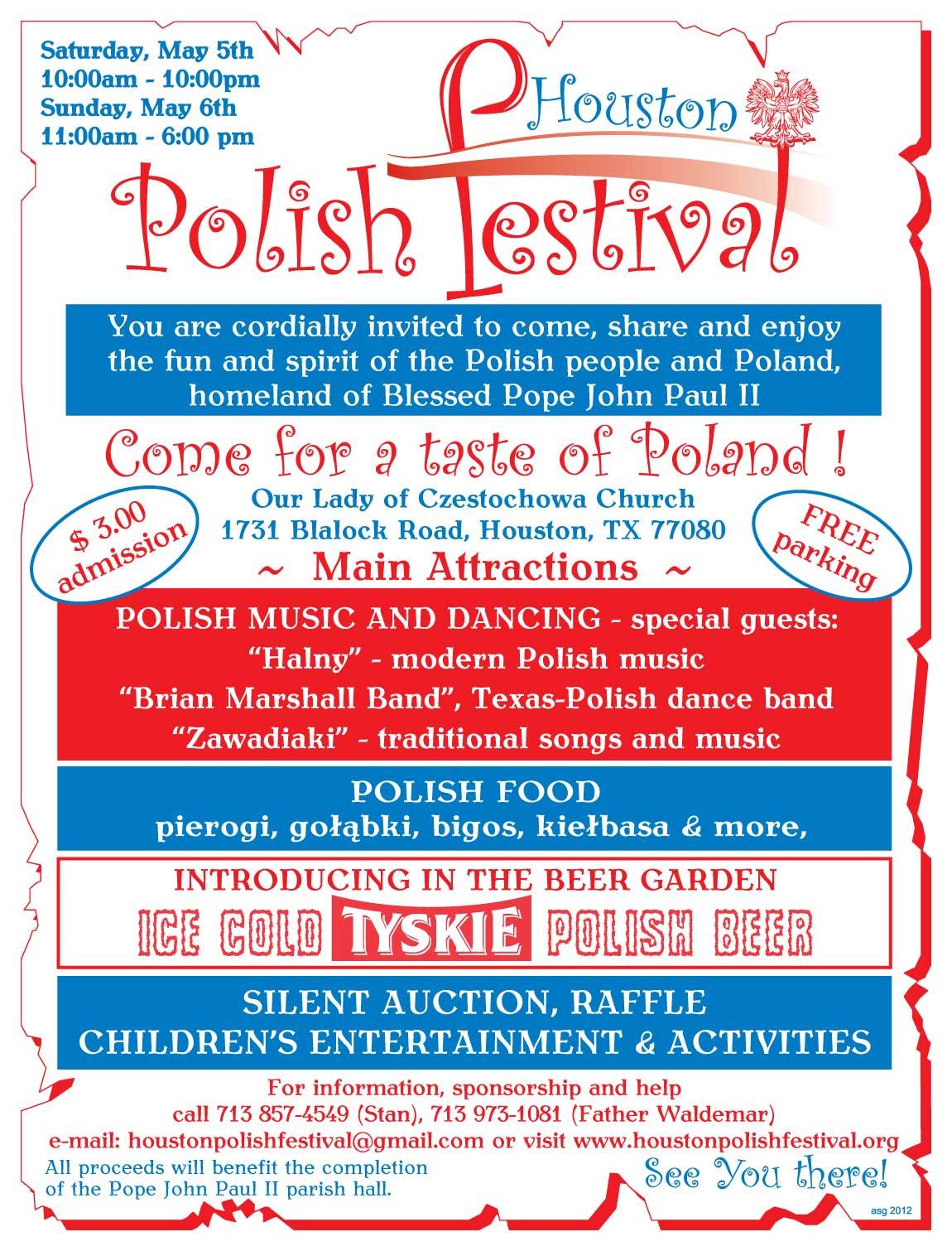 6th Annual Houston Polish Festival