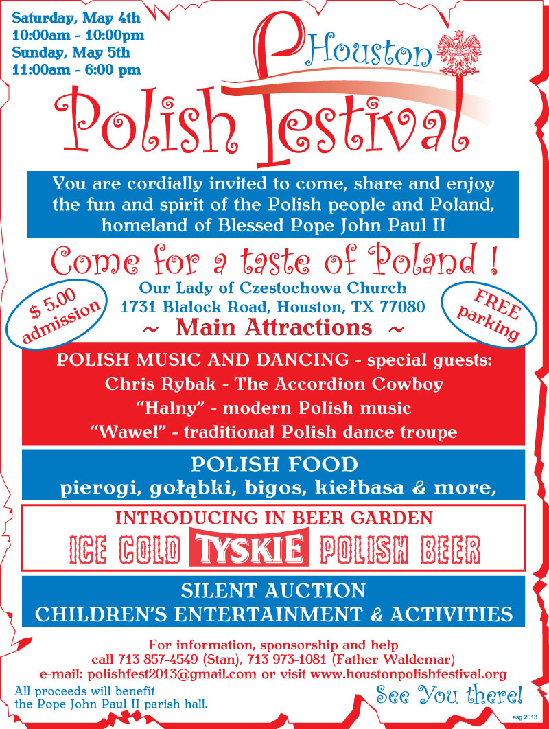 7th Annual Houston Polish Festival