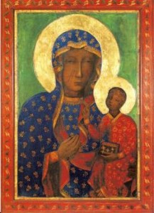 Traveling icon of Our Lady of Czestochowa