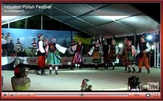 2009 Houston Polish Festival Video