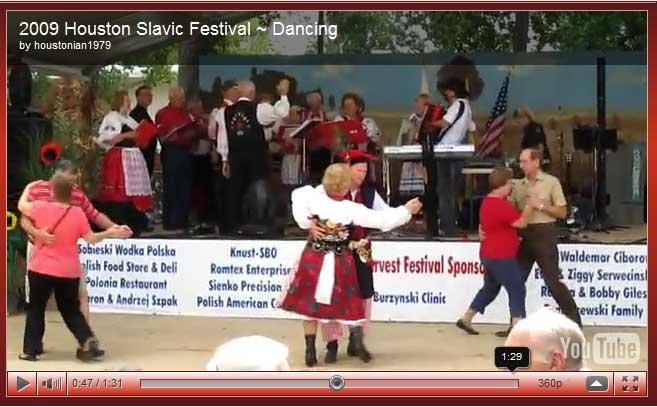2009 Houston Slavic Heritage Video