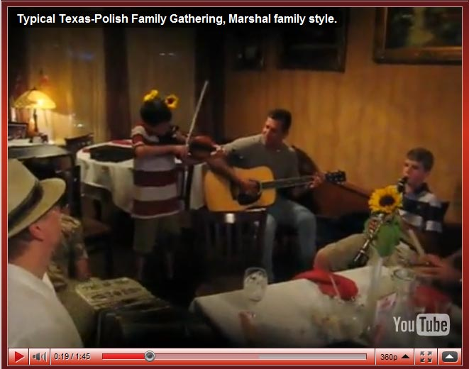 Typical Texas-Polish Family Gathering With Brian Marshall and Friends In Houston Texas