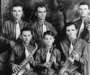 Polish Texan Musicians - George Piotrowski, Alec Piotrowski, John Muszynski,Fred Kempinski, Leonard Muszynski, Frumon Muszynski