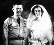 Sgt. and Mrs. Robert Grucholski