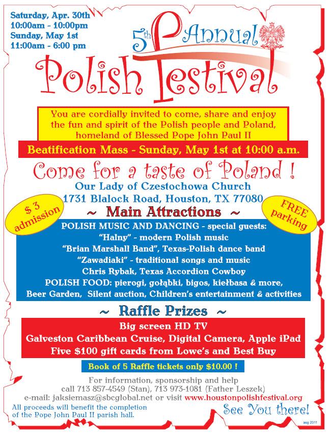 5th Annual Houston Polish Festival