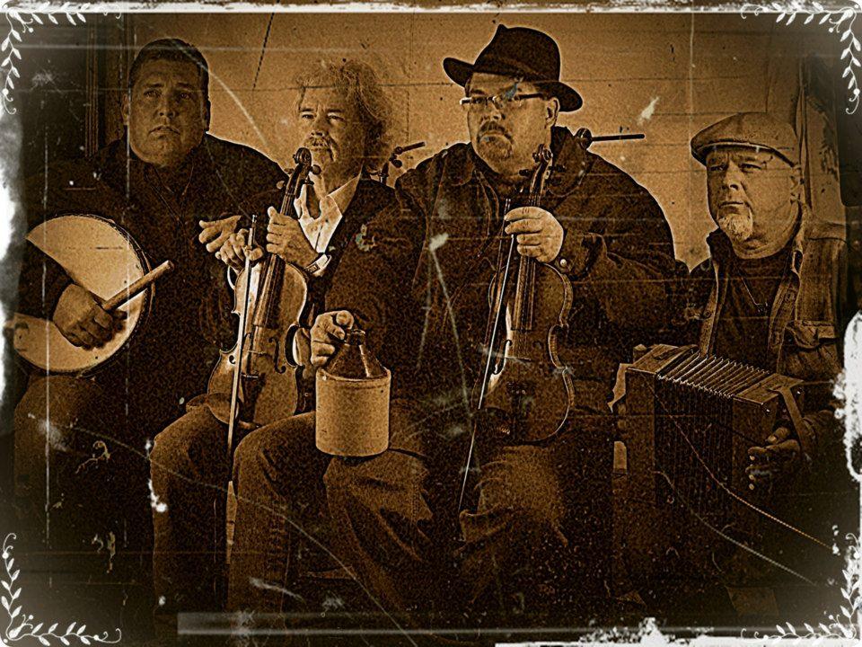 Brian Wisnoski, Joe Weed, Brian Marshall and Frank Motley - Photo courtesy of Brian Marshall