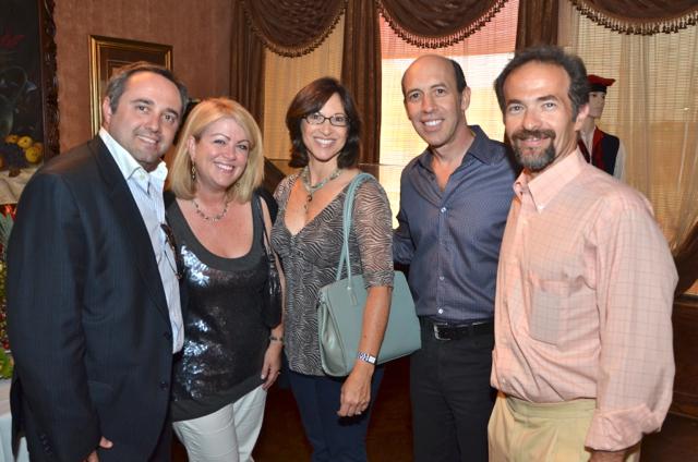 Importer Jean-Francois Bonnete with international guests.