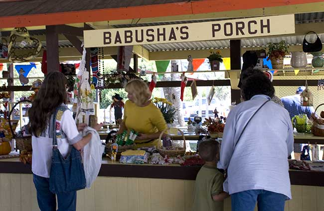 Babusha's Porch